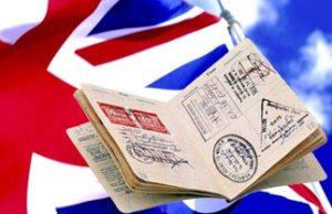 виза в Британию