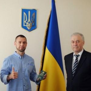 Sergey Mihalyuk poluchil vid na zhitelstvo v ukraine