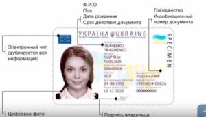 ID паспорт (карта) Украины